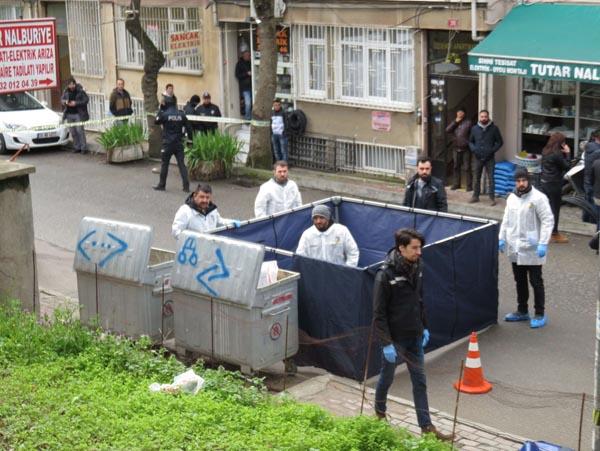 Son dakika... Kadıköy'de çöp konteynerinden kadın bacakları çıktı