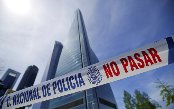 Son dakika... Madrid'de bomba alarmı!