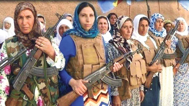 IŞİD neden kadın taburu kurdu