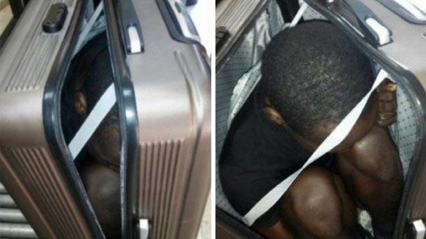 Son dakika... Bavul ve arka koltuğun altında iki göçmen yakalandı!