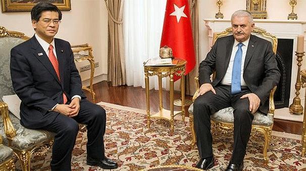 Başbakan Yıldırım, İshii'yi kabul etti!