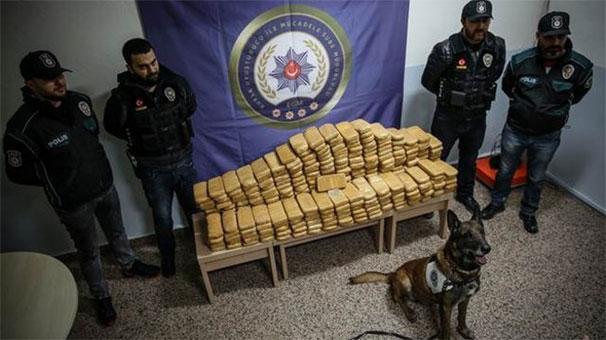 Bursa'da 162 kilo eroin ele geçirildi
