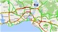 """İstanbul'da """"karne"""" trafiği! Yol haritası kıpkırmızı..."""