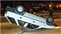 Samsun'da feci kaza! Ölümden döndü