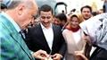 Cumhurbaşkanı Erdoğan 15 Temmuz Gazisi'nin söz yüzüğünü taktı