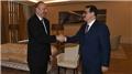 Bakan Dönmez, Aliyev'le görüştü