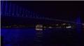 İstanbul maviye büründü!