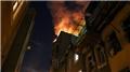 Korkutan yangın! Mahalleli sokağa döküldü