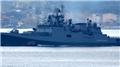 Rus askeri gemisi Boğaz'dan böyle geçti