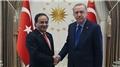 Cumhurbaşkanı Erdoğan, Dominik'in Ankara Büyükelçisi'ni kabul etti