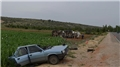 Konya'da feci kaza! Otomobil bu hale geldi