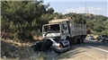 Kahramanmaraş'ta korkunç kaza... Kamyon otomobili biçti!