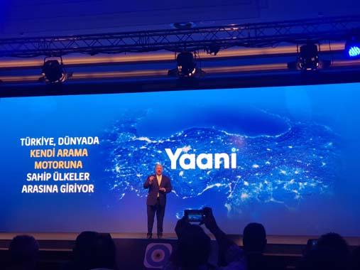 Türkiye'nin arama motorunun adı Yaani