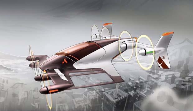 Airbus'ın uçan taksisi ilk test uçuşunu gerçekleştirdi