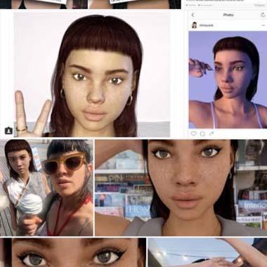 Sosyal medyayı ikiye bölen Lil Miquela hayal mi yoksa gerçek mi?
