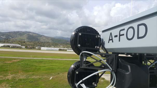 Havaalanlarında uçaklara zarar verebilen yabancı cisimler A-FOD ile tespit edilecek