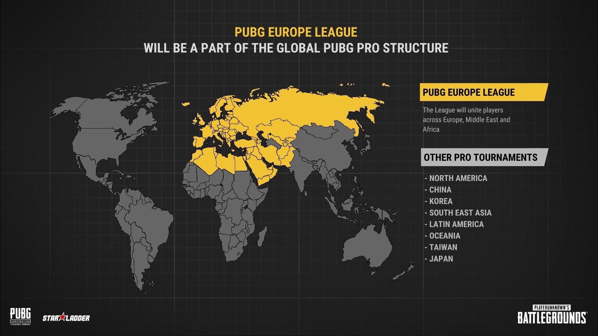 1 milyon Euro ödüllü PUBG Avrupa Ligi duyuruldu