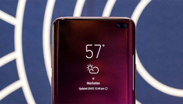 Galaxy S10 farklı tasarımıyla epey konuşulacak