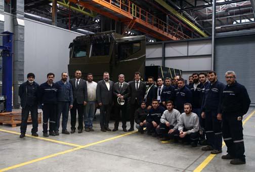 Mehmetçik'in yüküne destek olacak araç: Derman
