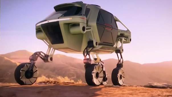 Hyundai'den yürüyen araba: Elevate