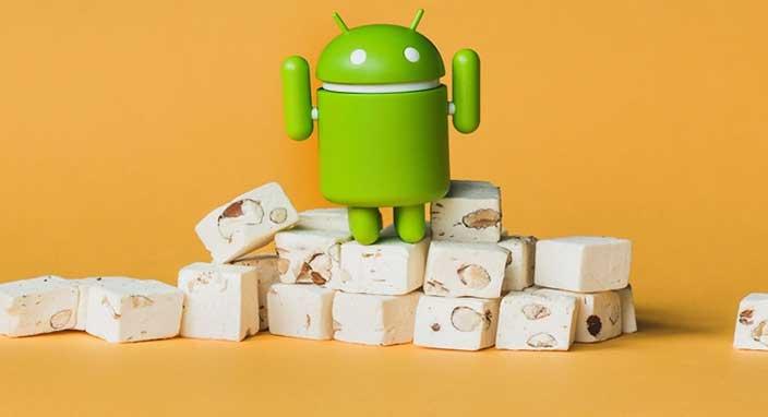 Android 7.0 Nougat hala çift haneli rakamlara ulaşamadı