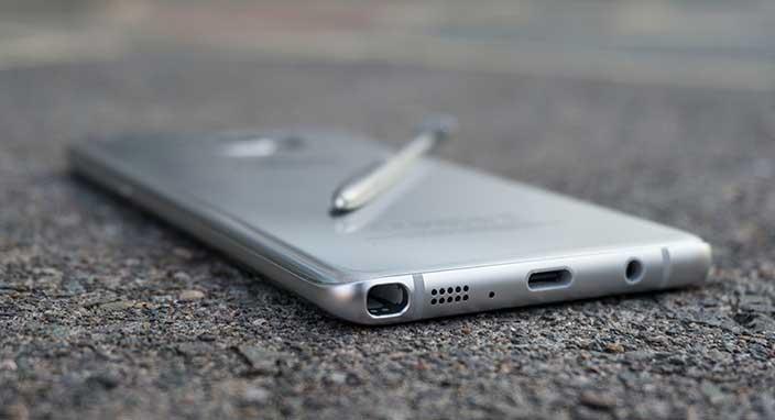 Samsung Galaxy Note 8'in ön paneli göründü