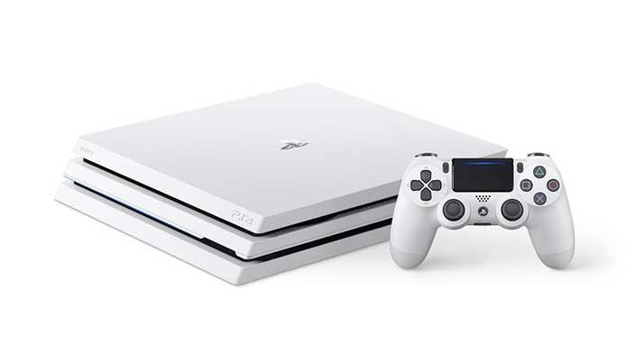 PlayStation 4 Pro'nun beyaz renk seçeneği ortaya çıktı