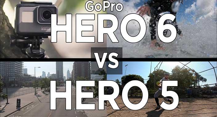 GoPro Hero 6 ile Hero 5 karşı karşıya! Hangisi daha iyi?