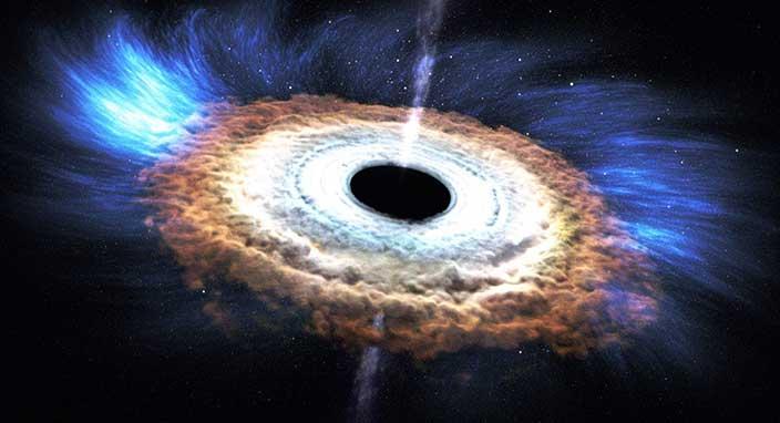 Süper kütleli 5 çift kara delik keşfedildi