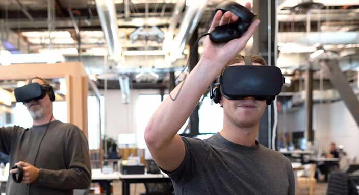 Mark Zuckerberg dünyanın yaklaşık yüzde 13'ünün sanal gerçekliği kullanmasını istiyor