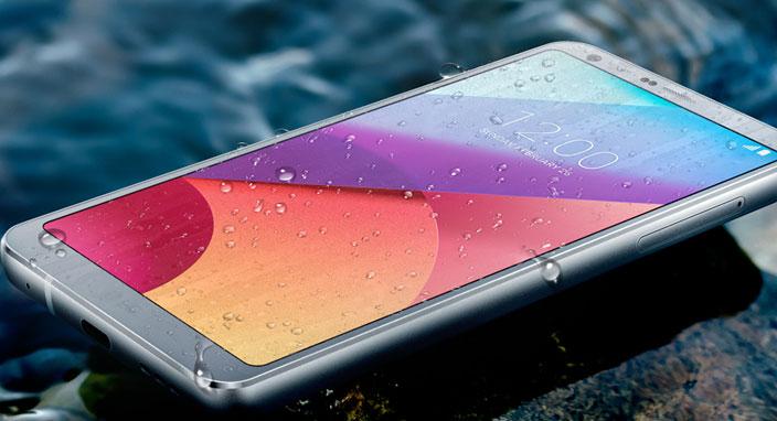 Suya dayanıklı LG G6 kazandırıyor!