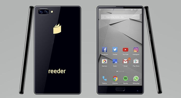 Reeder yeni akıllı telefonu p12S'yi tanıttı