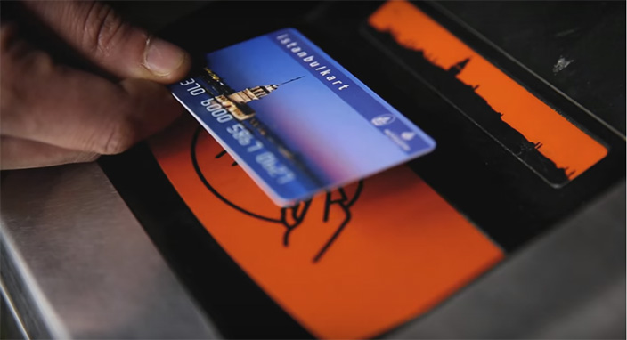 İstanbulkart adlı uygulamayla kartınıza kredi kartıyla yükleme yapabileceksiniz