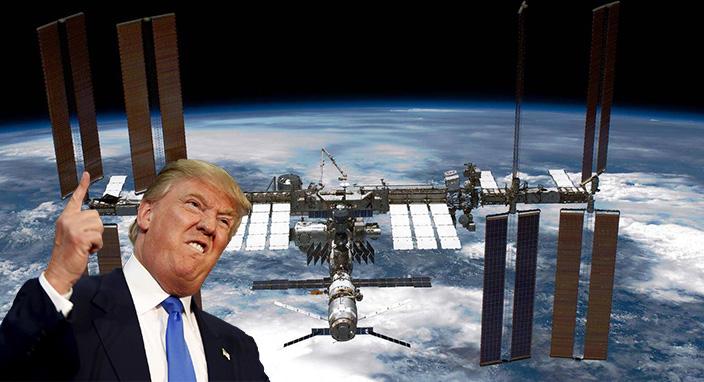 Donald Trump, Uluslararası Uzay İstasyonu'nu ticari olarak işletilen bir girişime dönüştürmeyi planlıyor