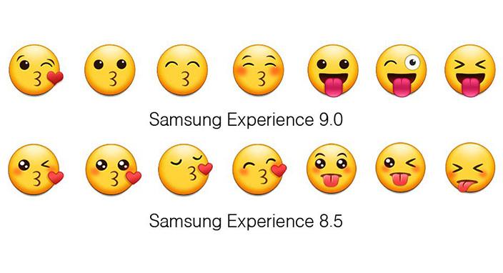 Samsung, Android Oreo ile emojilerini yeniledi