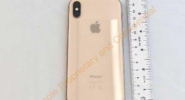 Altın renginde iPhone X mi geliyor?