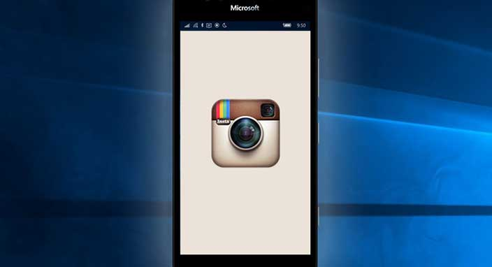 Windows 10 işletim sitemine sahip olan telefonlardan Instagram kalktı!