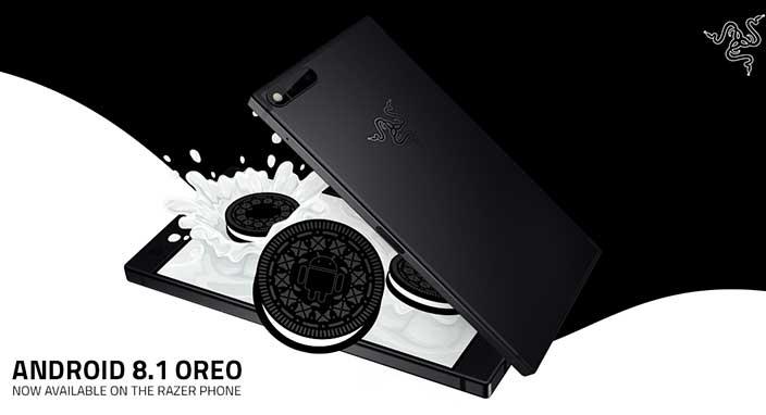Razer Phone'a Android Oreo 8.1 güncellemesi geldi!