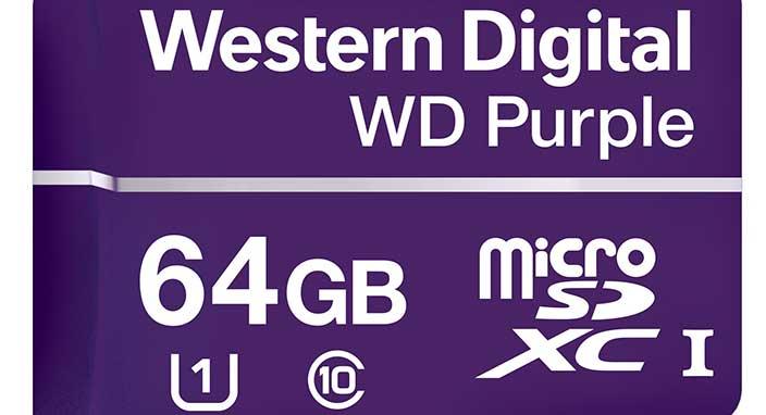 Western Digital 7/24 video kaydı yapan yeni kartını tanıttı