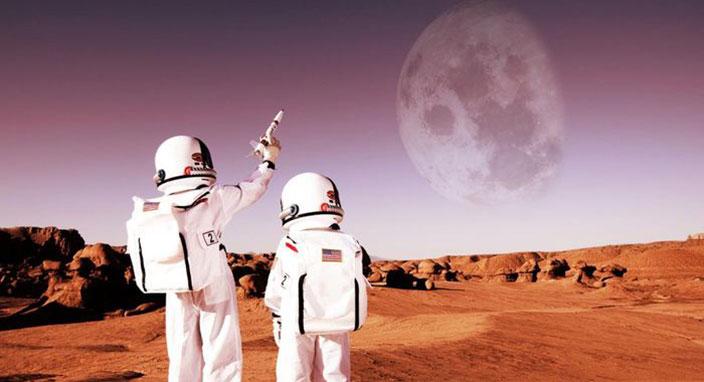 Mars'ta yaşamın olduğuna dair yeni kanıt!