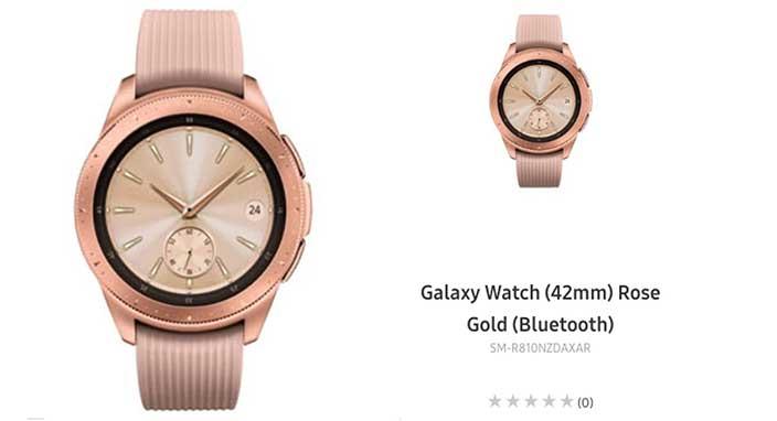 Samsung, yeni akıllı saati Galaxy Watch'u sızdırdı