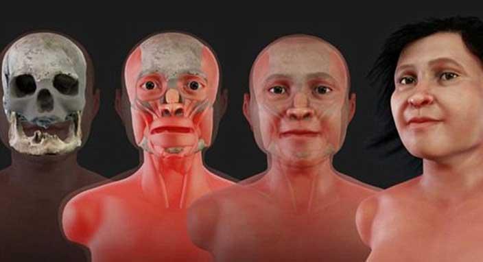 14 bin yıl önce ölen Maya kadınının yüzü yeniden yaratıldı