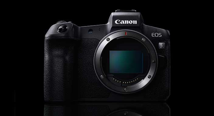 Canon'dan yeni full frame fotoğraf makinesi: EOS R
