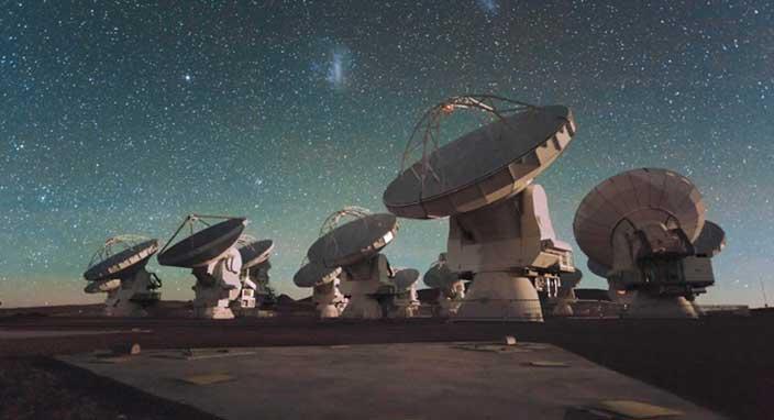 Bir galakside ilk kez molekül rüzgarı gözlemlendi