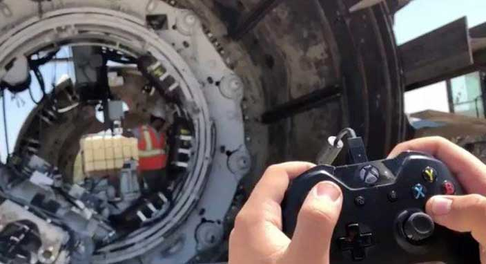 The Boring Company'den makinelerini kontrol etmek için yeni yol: Xbox kumandası