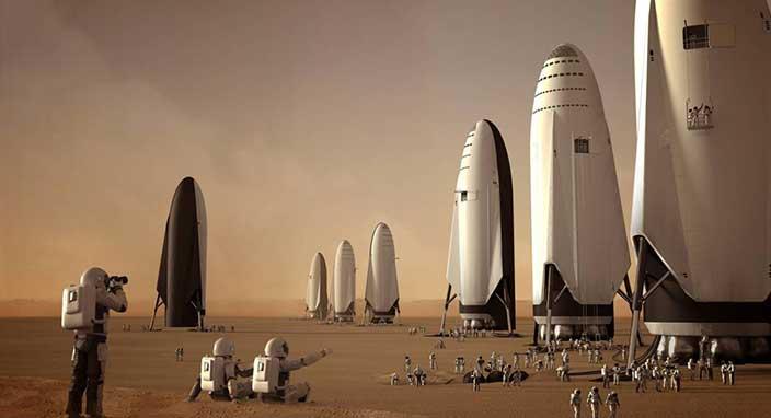 SpaceX, BFR uzay gemisi testlerine kısa süre sonra başlayacak