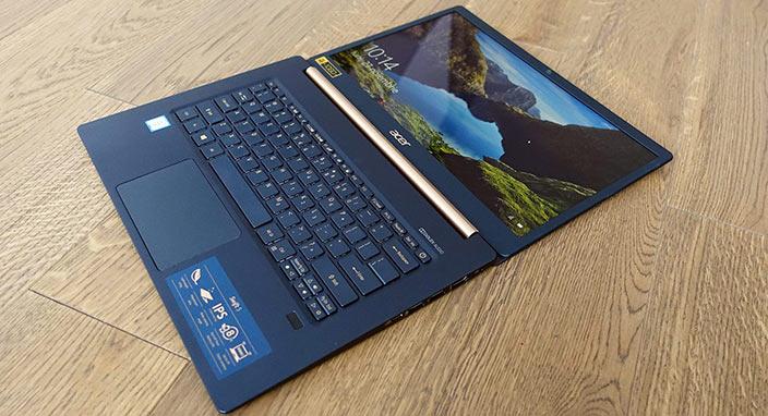 Acer Swift 5 inceleme: 970 gramlık dizüstü bilgisayar