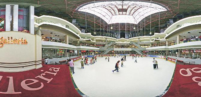 Galleria'nın 22 yıllık buz pisti yeşile dönüyor
