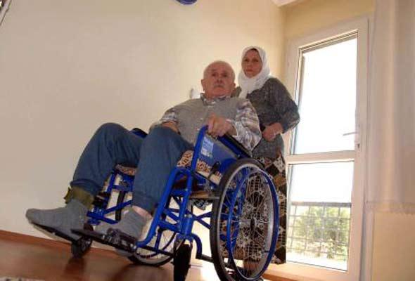 79 yaşındaki felçli işadamına cezaevi yolu