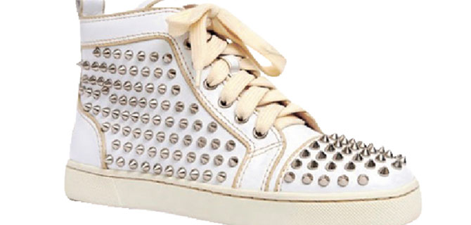 Haute couture spor ayakkabılar